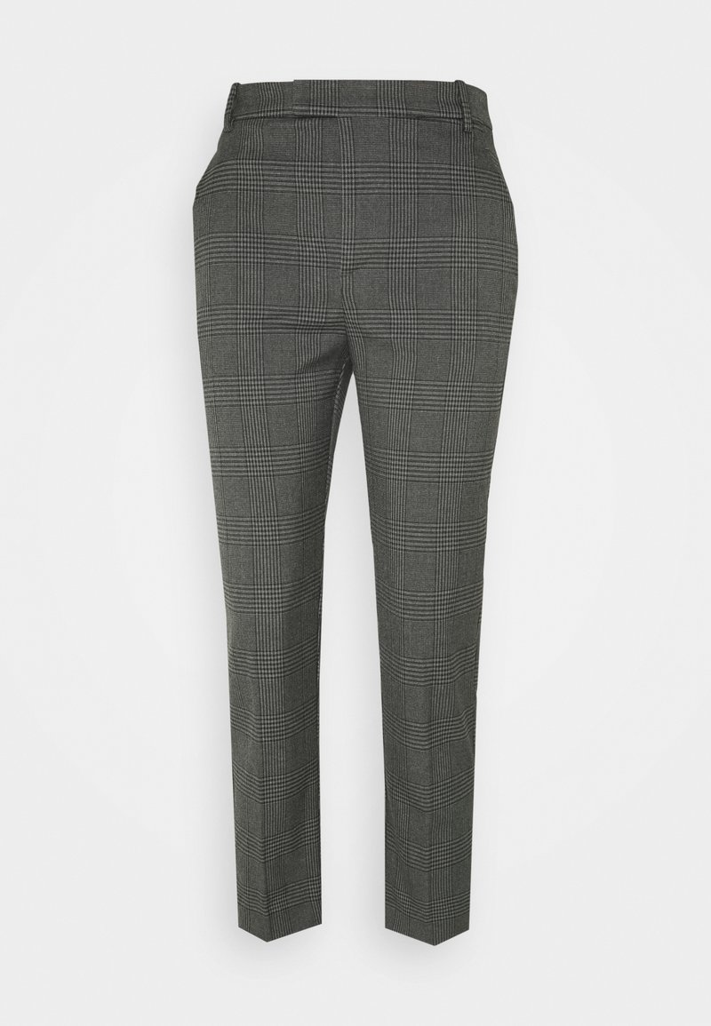 Lindex - TROUSERS POLLY CHECK - Bukser - grey