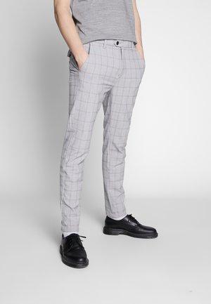 JJIMARCO JJCONNOR - Pantalon classique - silver