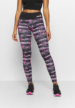 JYN - Leggings - black/pink
