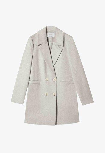 BASIC - Classic coat - grey