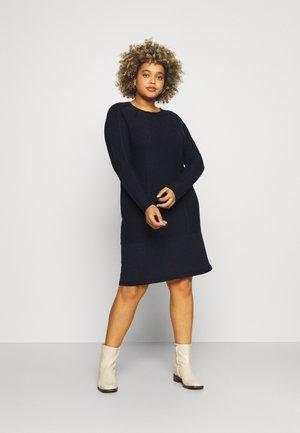 GALLIA - Jumper dress - blu marino