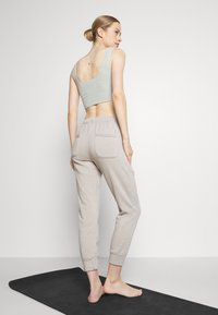 Free People - WORK IT OUT - Tracksuit bottoms - grey - 2
