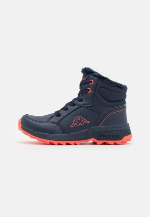 GRANE UNISEX - Hiking shoes - navy/coral