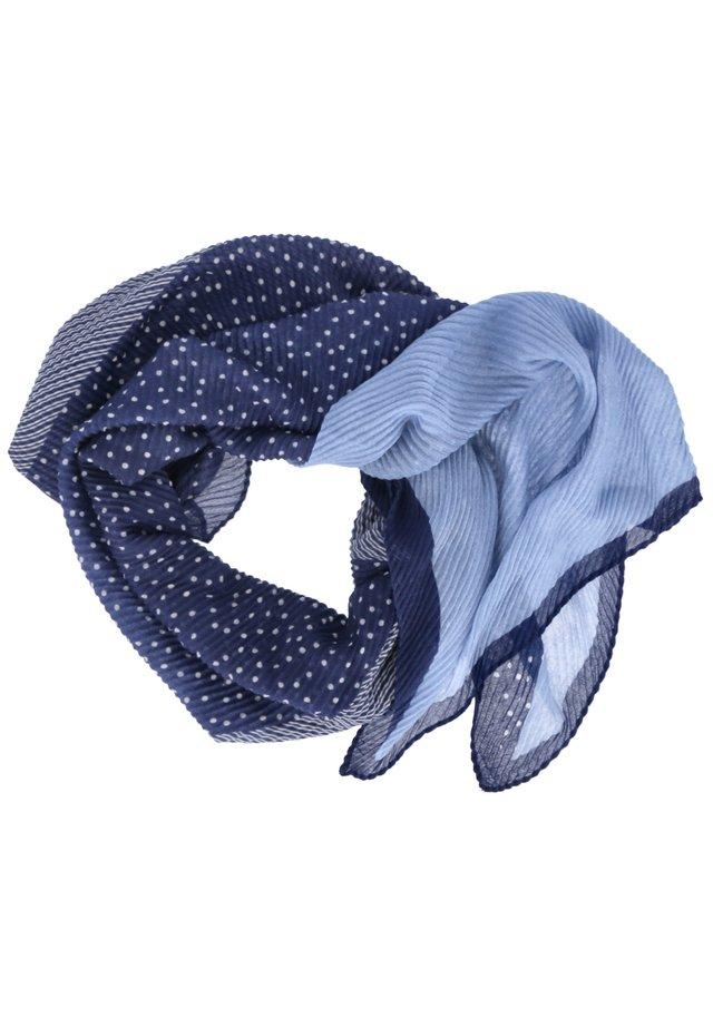 Snood - blau grau