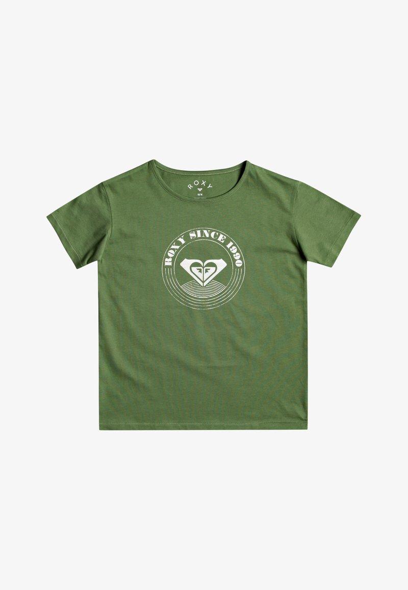 Roxy - DAY AND NIGHT - Print T-shirt - vineyard green