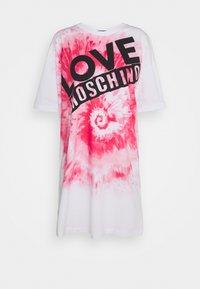 Love Moschino - Jersey dress - optical white - 5