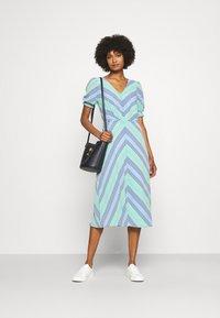 Lauren Ralph Lauren - GILLIAN DAY DRESS - Denní šaty - colonial cream - 1