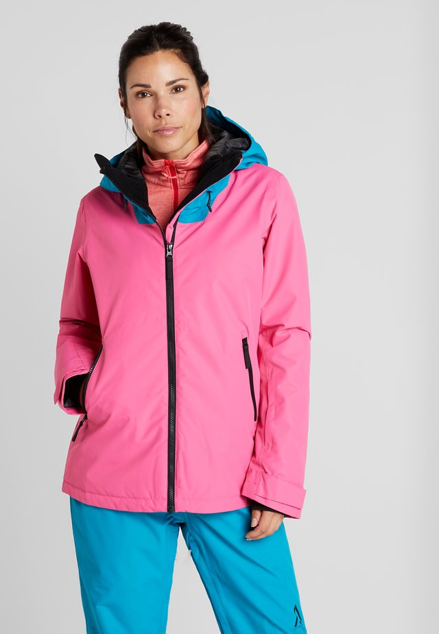 CAKE JACKET - Kurtka snowboardowa - post it pink