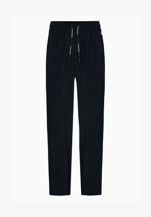 DRAPEY - Trousers - black