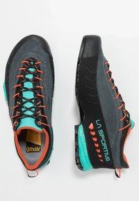 La Sportiva - TX4 WOMAN - Hiking shoes - carbon/aqua - 1