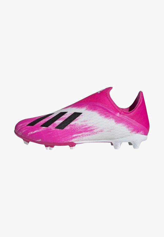 X 19.3 FIRM GROUND BOOTS - Moulded stud football boots - white