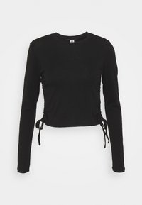 BDG Urban Outfitters - RUCHED  - Long sleeved top - black - 5