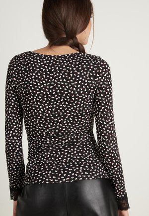 LONG SLEEVED - Blouse - anthracite