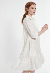 Ana Alcazar - DACOTIS - Shirt dress - offwhite - 2