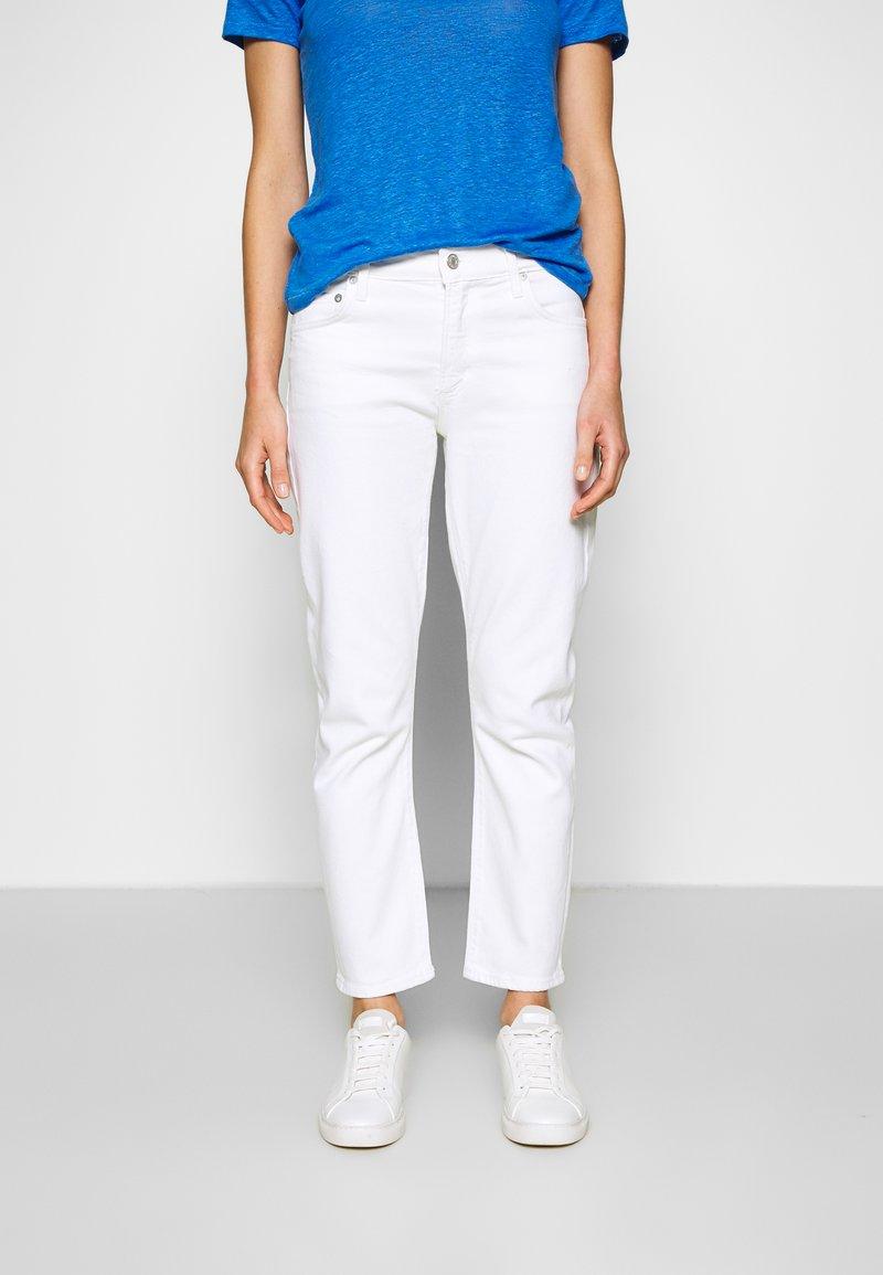Agolde - TONI - Jeansy Slim Fit - white