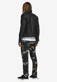 Jack & Jones - Leather jacket - black - 2