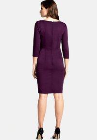 HotSquash - Shift dress - dark purple - 1