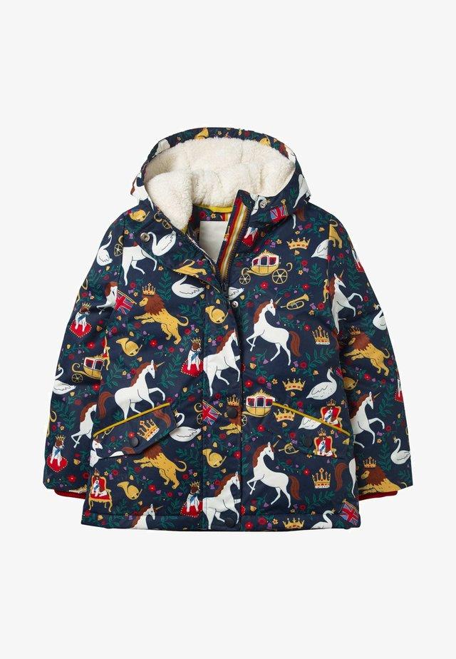 Winter jacket - schuluniform-navy, britischer toile
