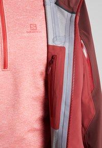 Haglöfs - STIPE JACKET WOMEN - Snowboard jacket - brick red/maroon red - 5