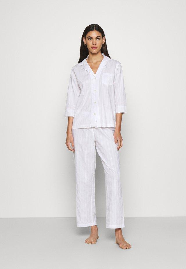 LONG  - Pyjamas - white