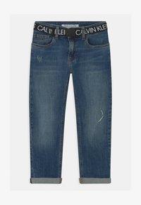 Calvin Klein Jeans - REG STRAIGHT - Straight leg jeans - blue - 0