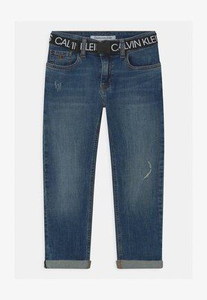 REG STRAIGHT - Straight leg jeans - blue