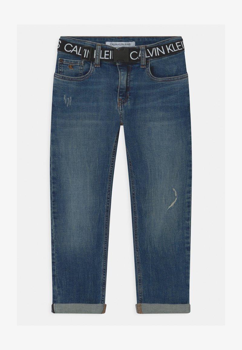 Calvin Klein Jeans - REG STRAIGHT - Straight leg jeans - blue