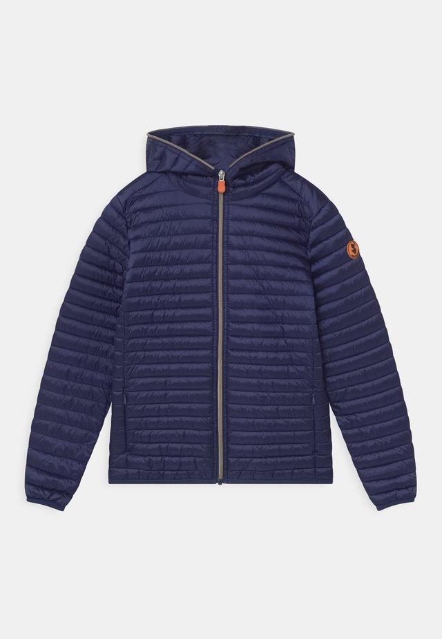 IRIS HOODED UNISEX - Light jacket - navy blue