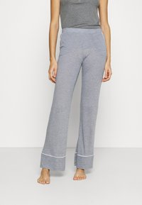 Etam - WARM DAY PANTALON - Pyjama bottoms - marine - 0