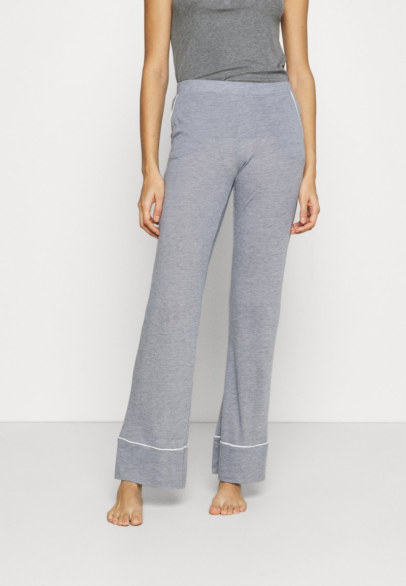 Etam - WARM DAY PANTALON - Pyjama bottoms - marine