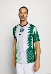 Nike Performance - NFF NIGERIA NIGERIA HOME - Landslagströjor - white/black - 0