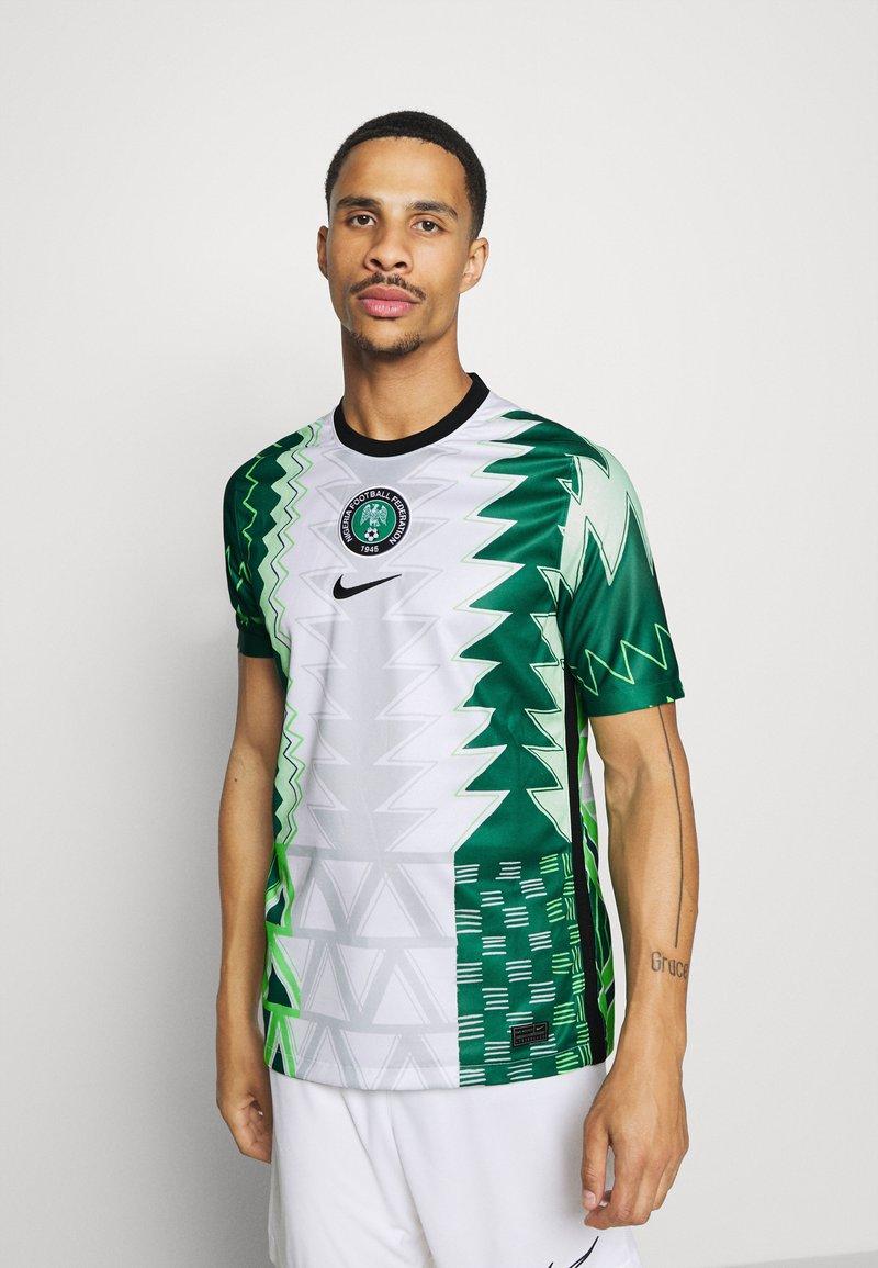Nike Performance - NFF NIGERIA NIGERIA HOME - Landslagströjor - white/black
