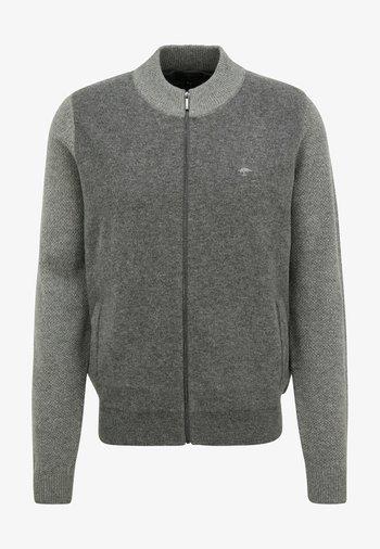 Fleece jacket - steel