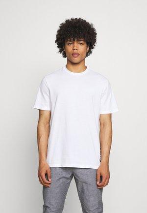 ONSBOBDYLAN LIFE TEE - T-shirt med print - white