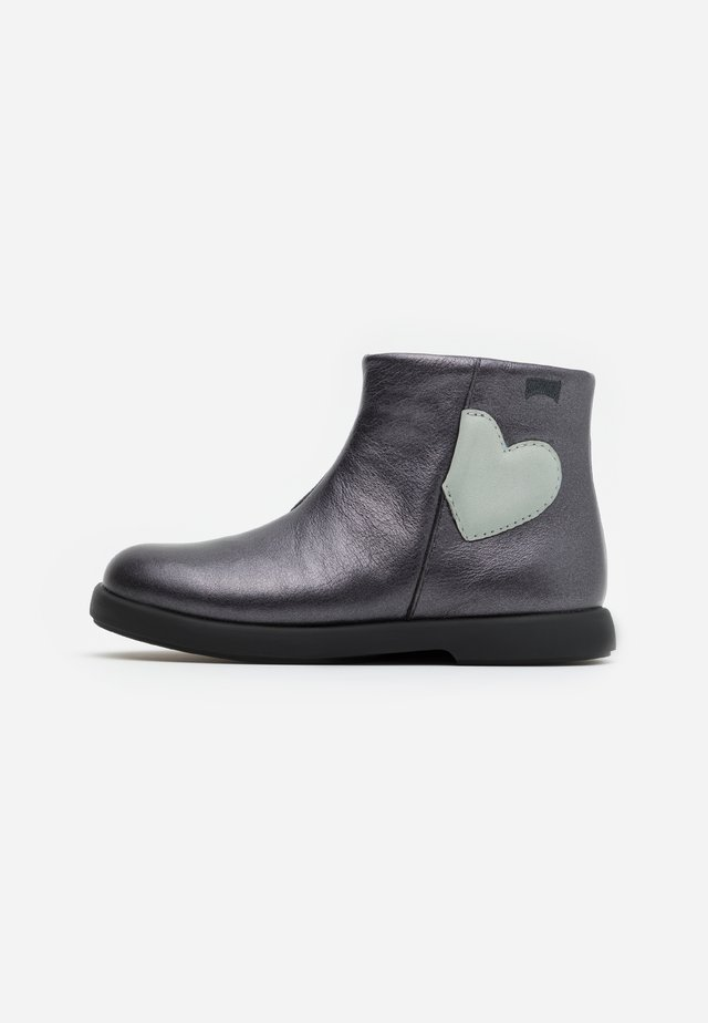 DUET KIDS - Bottines - dark gray