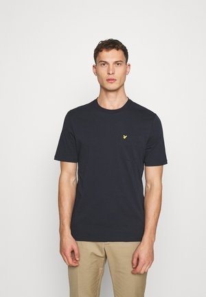 RELAXED POCKET - Basic T-shirt - dark navy