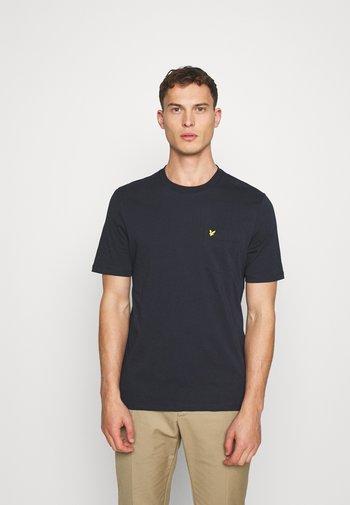 RELAXED POCKET - T-shirt - bas - dark navy