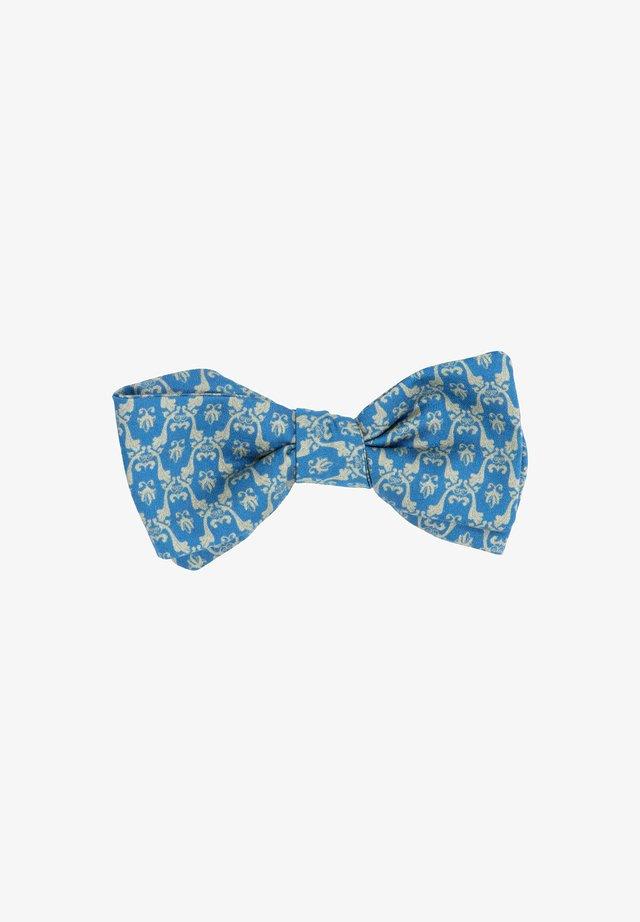 TANTE CLAUDIA - Vlinderdas - blau/beige