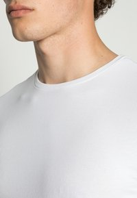 Only & Sons - ONSBASIC SLIM TEE - Long sleeved top - white - 4