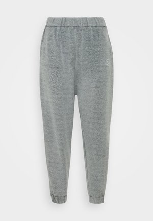 BRUSHED JOGGER - Tracksuit bottoms - washed grey