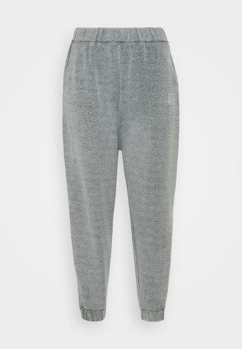 BRUSHED JOGGER - Tracksuit bottoms - washed grey