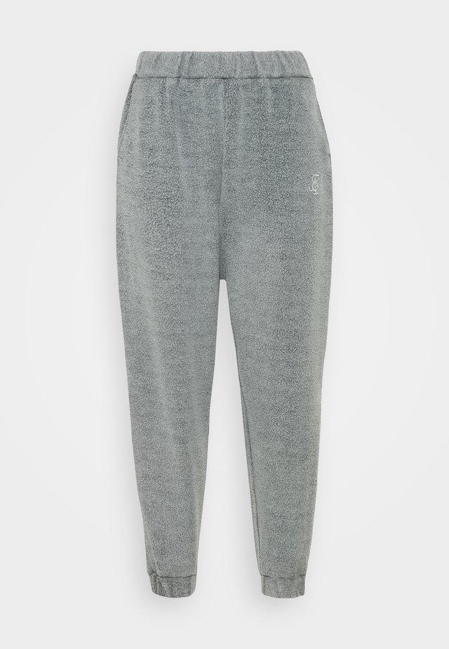 BRUSHED JOGGER - Verryttelyhousut - washed grey