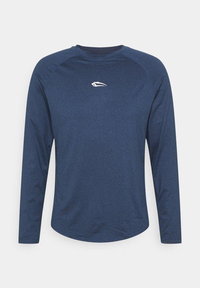 LONGSLEEVE STANLEY - Maglietta a manica lunga - blau