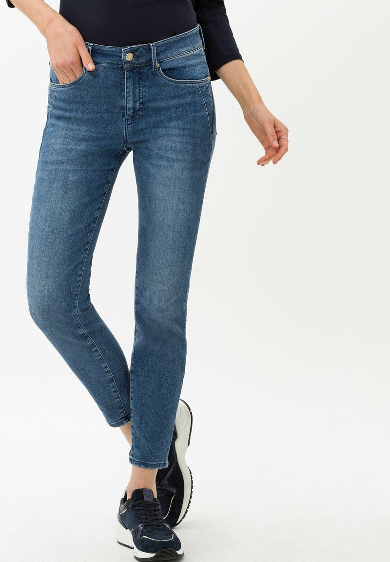 BRAX - STYLE ANA S - Jeans Skinny Fit - used regular blue