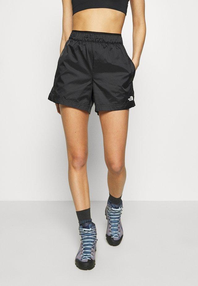 WOMEN'S ACTIVE TRAIL BOXER SHORT - Pantaloncini sportivi - black