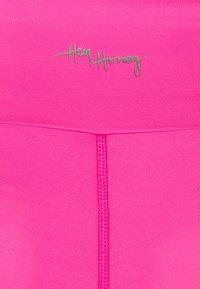 Hey Honey - LEGGINGS  - Punčochy - neon pink - 2