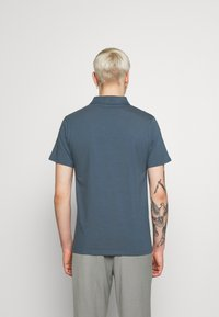 Filippa K - SOFT - Polo shirt - blue/grey - 2