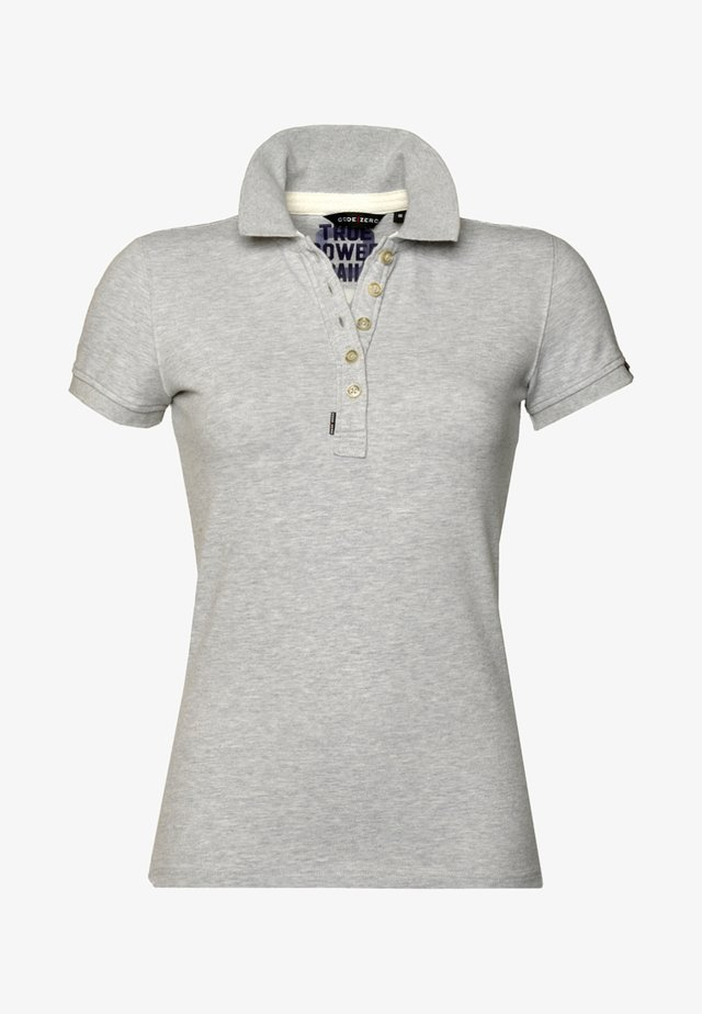 Polo shirt - light gray