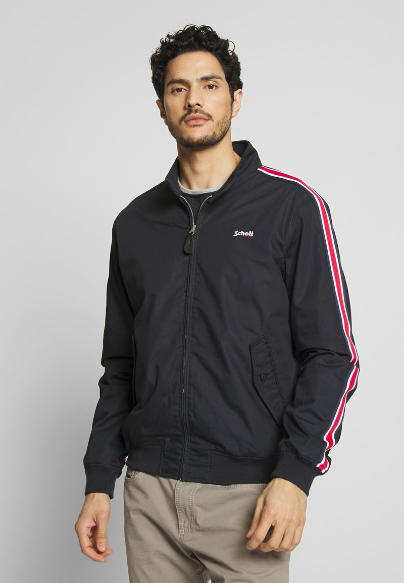 Schott - CABLE - Summer jacket - navy stripe