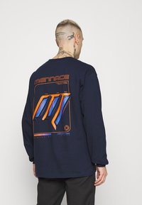 Mennace - UNISEX  - Long sleeved top - navy - 2